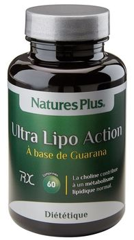Ultra Lipo Action  60 comprimés NATURE'S PLUS