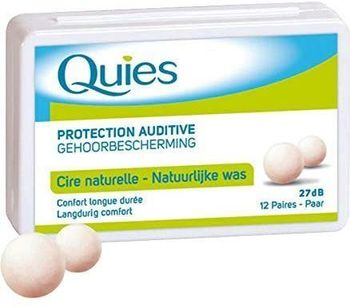Quies Cire naturelle - 12 Paires