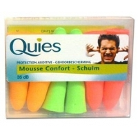 Quies Protections Mousse fluo 6 Paires
