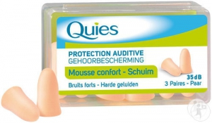 Quies Protections Mousse Chair - 3 paires