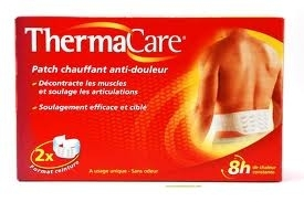 THERMACARE PATCH CHAUFFANT ANTI-DOULEUR DOS ET HANCHE