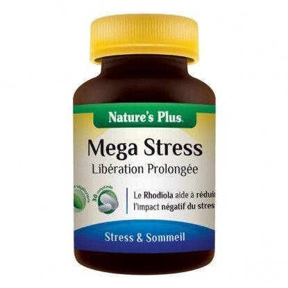Méga stress (action prolongée) Nature's Plus 30 comp