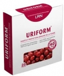 Uriform - 28 Comprimés Cranberry - Extrait de canneberge 40mg