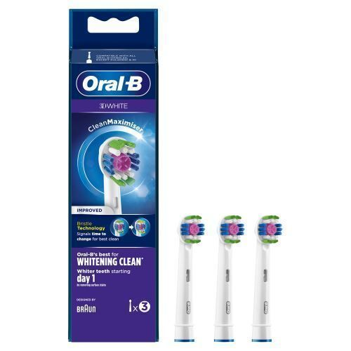 Oral B 3D white pack de 3 brossettes