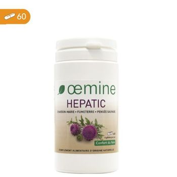 Oemine hepatic 60 gelules