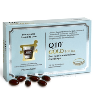 Q10 Gold 100mg, 60 capsules Pharma nord