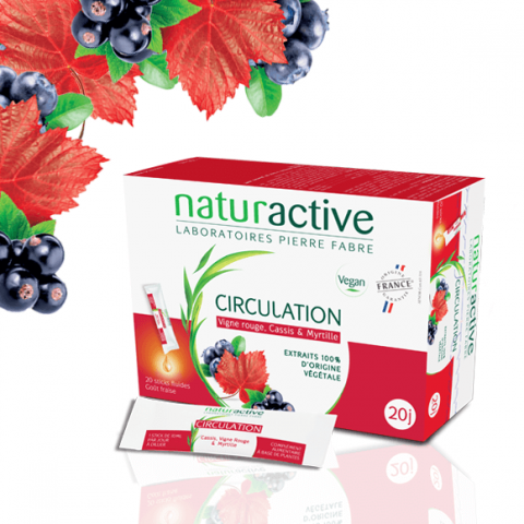 Naturactive Elusanes circulation 15 sticks à diluer
