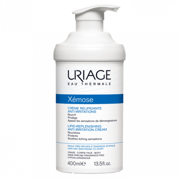 Uriage Xémose Crème Relipidante Anti-irritations 400ml