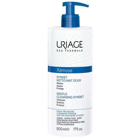 Xemose Syndet nettoyant doux, 400ml Uriage