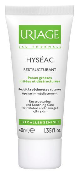 Hyséac Soin Restructurant Apaisant, 40ml Uriage
