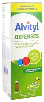 Alvityl Défenses Sirop 240 ml