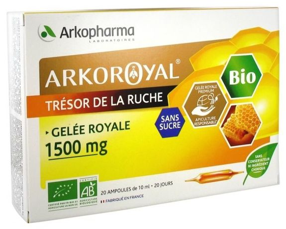 ARKO ROYAL Gelée Royale Bio 1500mg.