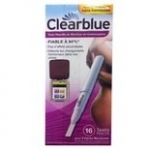 Clearblue  Tests Moniteur de Contraception 16 tests