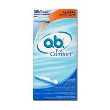 OB Tampons Applicateur ProComfort Super Boite de 16