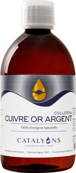Catalyons Cuivre Or Argent 500ml