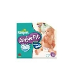 Pampers Active Fit 28 Couches Taille 3 (4-9kg)