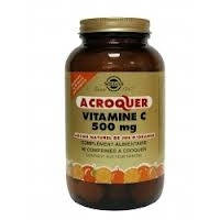 Solgar Vitamine C 500 arôme naturel orange 90 cprs à croquer