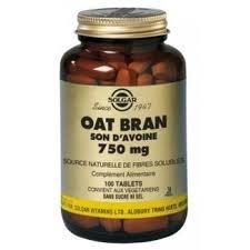 Solgar Oat Bran son d'avoine 100 tablets