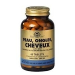 Solgar Peau, Ongles, Cheveux 60 tablets