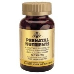 Solgar Prenatal nutrients  60 tablets