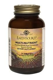 Solgar Earth Source Multi-nutriments 90 tablets
