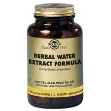 Solgar Herbal Water extract formula 100 gélules