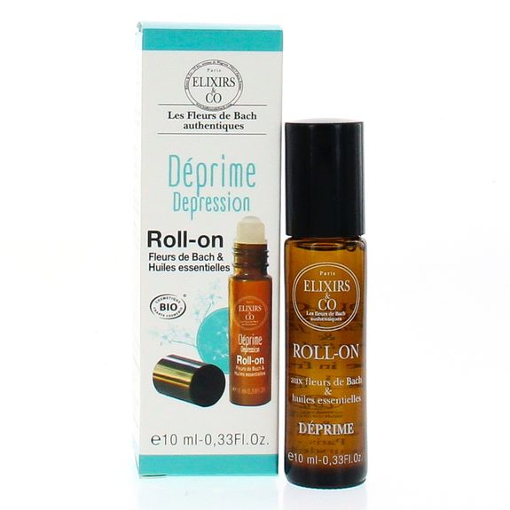 Roll-on Déprime 10ml fleurs de Bach