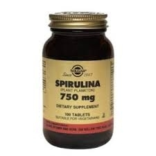 Solgar Spiruline 750 mg  100 tablets