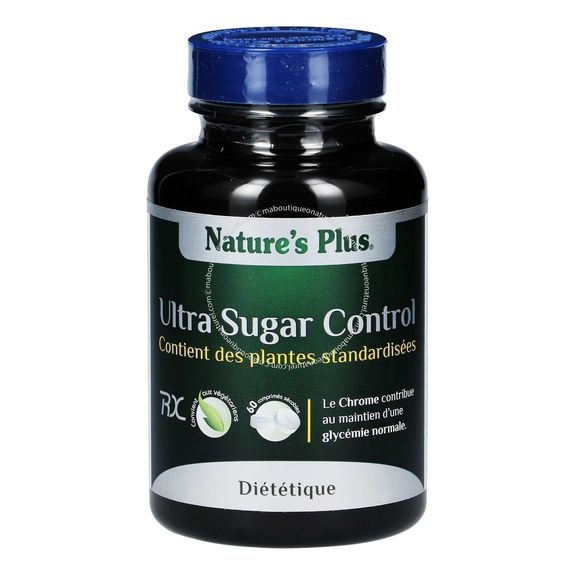 Ultra Sugar Control 60 comprimés  Nature's plus