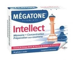 Mégatone Vitamines Intellect 30 Gélules