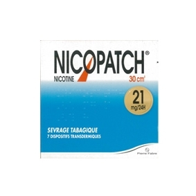 NICOPATCH 21mg/24h, dispositif transdermique de 7
