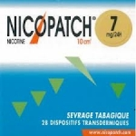 Nicopatch 7mg/24H - Sevrage tabagique - 28 patchs
