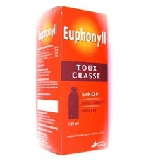euphonyll expectorant adulte toux grasse sirop de 180 ml. Black Bedroom Furniture Sets. Home Design Ideas