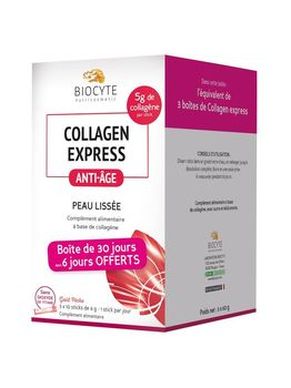 Biocyte Collagen Express 30 x 6 g 6 jours offerts