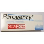 Parogencyl Prévention Gencives Lot de 2 x 75ml
