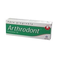 Arthrodont pate gingivale enoxolone 1%