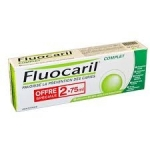 Fluocaril Complet dentifrice lot 2 x 75 ml