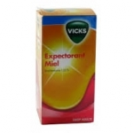 Vicks Expectorant miel guaifenesine 1.33% adulte 120ml