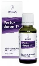 Pertudoron 1 solution buvable en gouttes 30ml Weleda