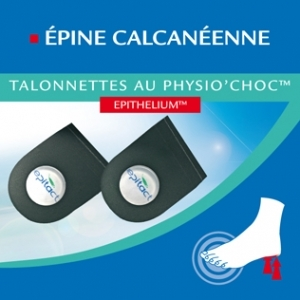 Epitact Talonnettes Physio'choc homme 1 paire