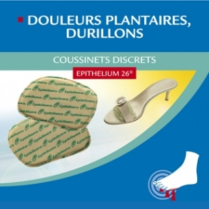 Coussinets discrets à l'Epithelium 26 1 paire