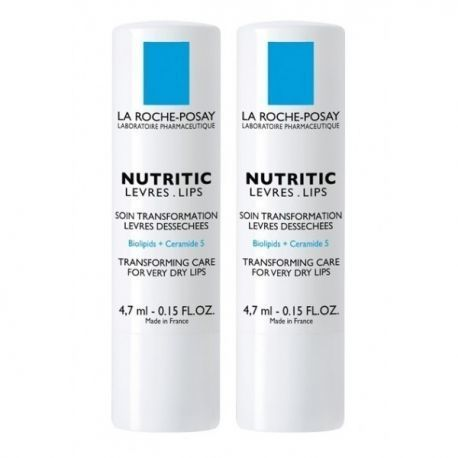 La Roche-Posay Nutritic Stick Lèvres Lot de 2 x 4,7ml