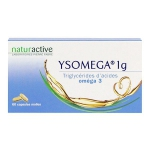 Ysomega 1 G Naturactive, 60 Capsules Molles