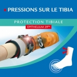 Epitact Protection tibiale à l'Epithelium 29 par 2 unités