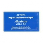 Alcabase  papier indicateur de PH par 52