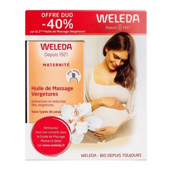 Weleda Pack Duo Vergetures 2 x 100 ml