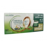 Naturactive cheveux et ongles 3*45 capsules