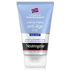 Neutrogena crème mains anti-age/taches ip25 50ml