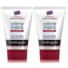 Neutrogena Crème Mains Non Parfumee Lot de 2*50ml