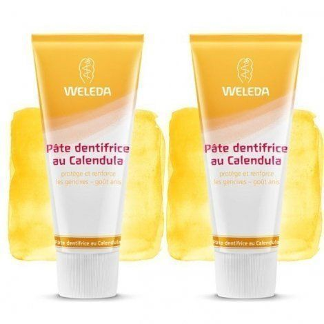 Weleda Dentifrice Calendula Duo 2*75ml